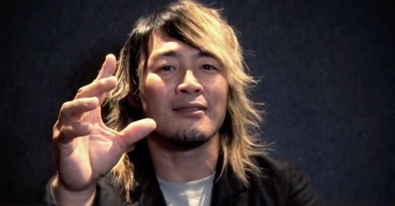 Hiroshi Tanahashi looks to walk through the forbidden door of AEW.
