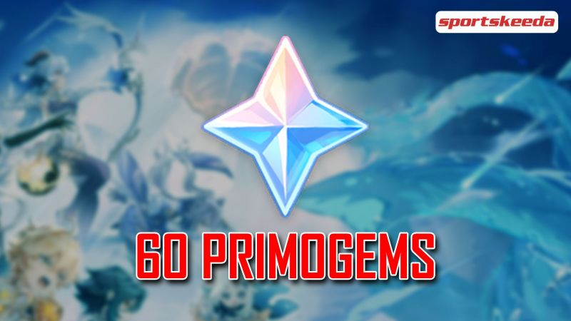 60 Primogems from the Genshin Impact and Twitch collaboration event (Image via Sportskeeda)