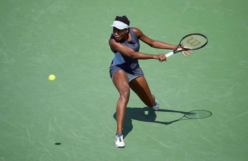 Venus Williams will be playing in her first match since Wimbledon.