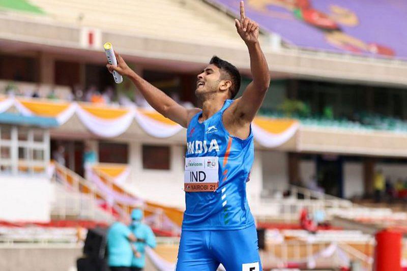 India finish first in heats (©Twitter/World Athletics)
