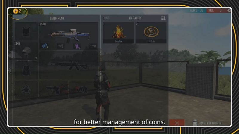 Coin Count (Image via Free Fire / YouTube)
