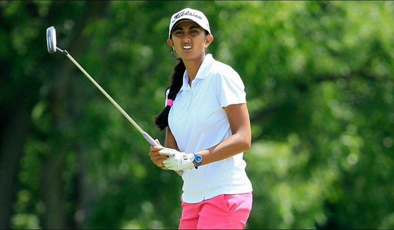 23 साल की अदिति ने भारतीय महिला गोल्फर्स का नाम विश्व पटल पर लिखा है।