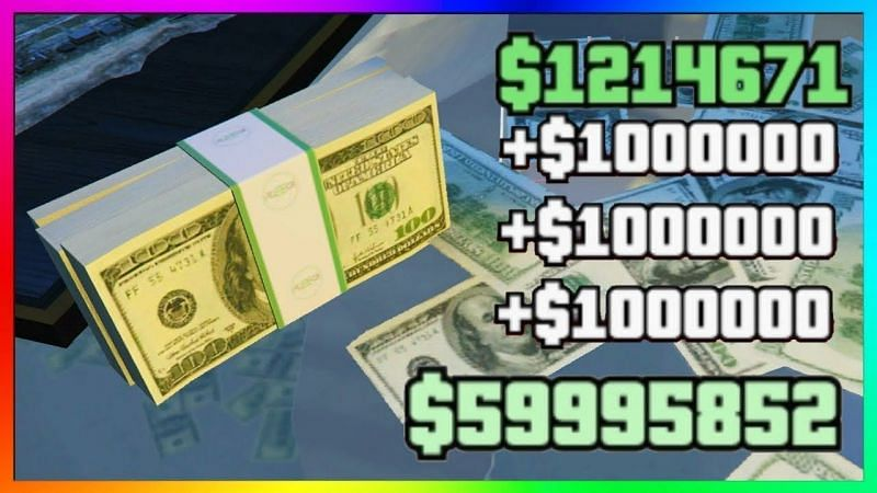 GTA Online Money (Source: Youtube @LaazrGaming)