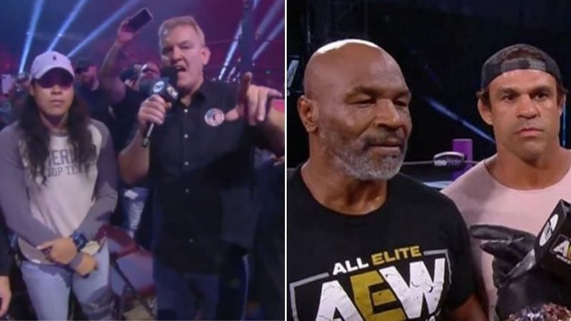 Several UFC fighters have appeared on AEW programming in the promotion's short history