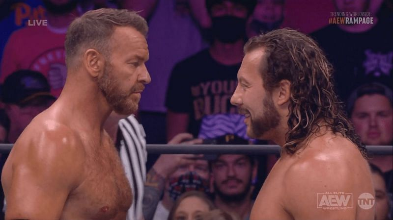 Christian Cage (Left) and Kenny Omega (Right)