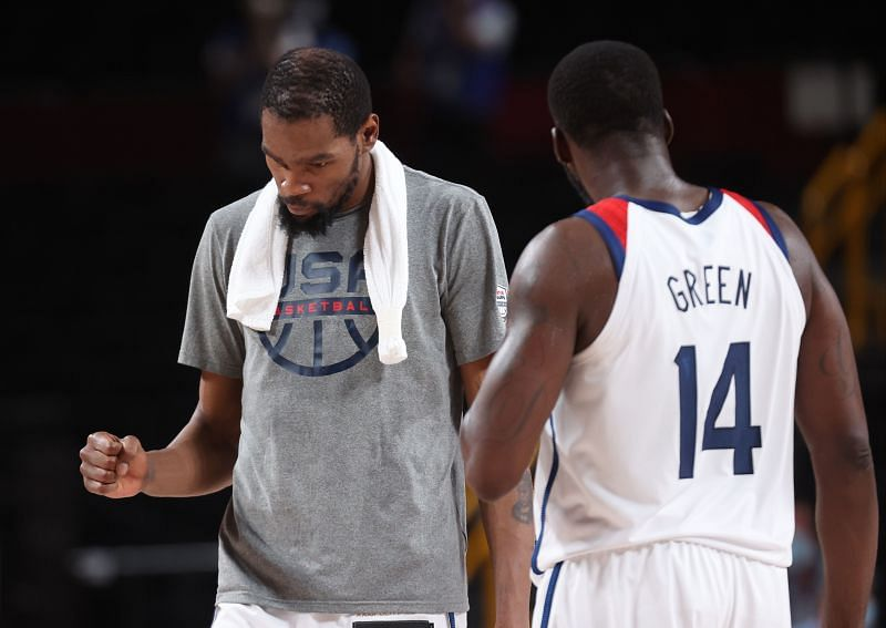 Kevin Durant has taken over for USA on offense in this year's Olympics on countless occasions