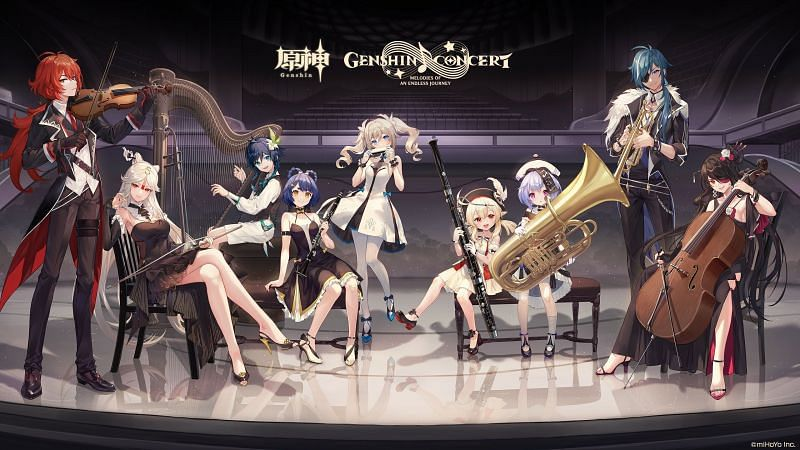 Genshin Impact will have a series of concerts featuring the game's soundtrack (Image via Genshin Impact )