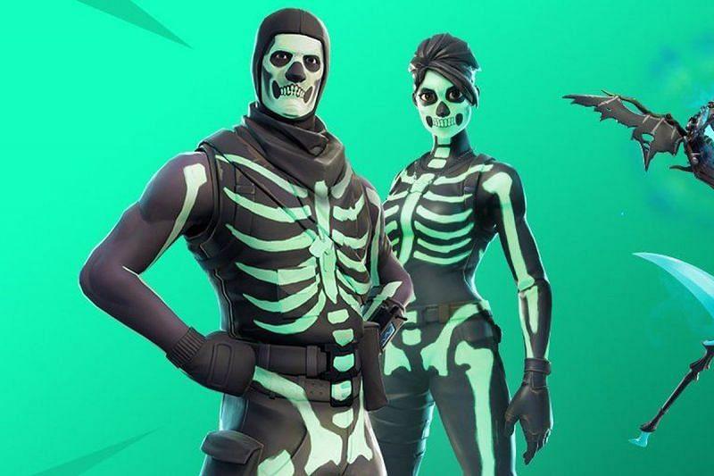 Skull Trooper in Fortnite (Image via Epic Games)