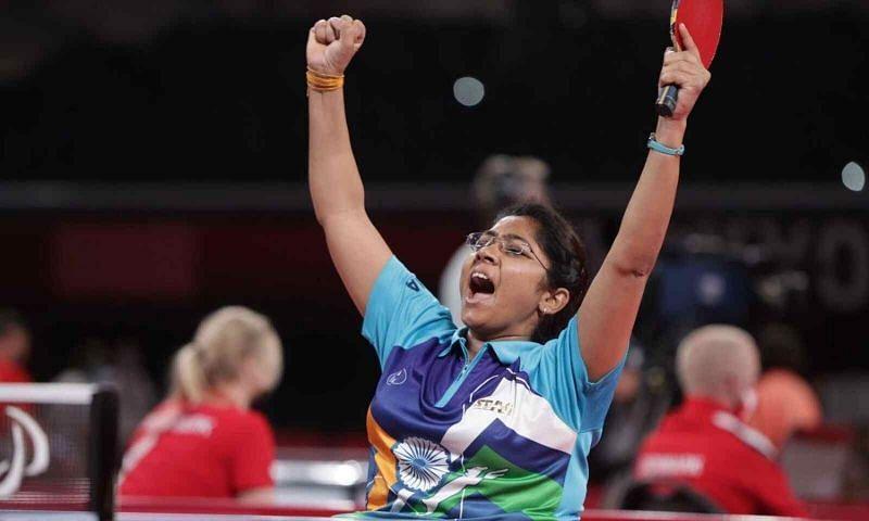 Tokyo Paralympics - भविना पटेल ने सेमीफाइनल में चीन की झैंग मियाओ को हराया