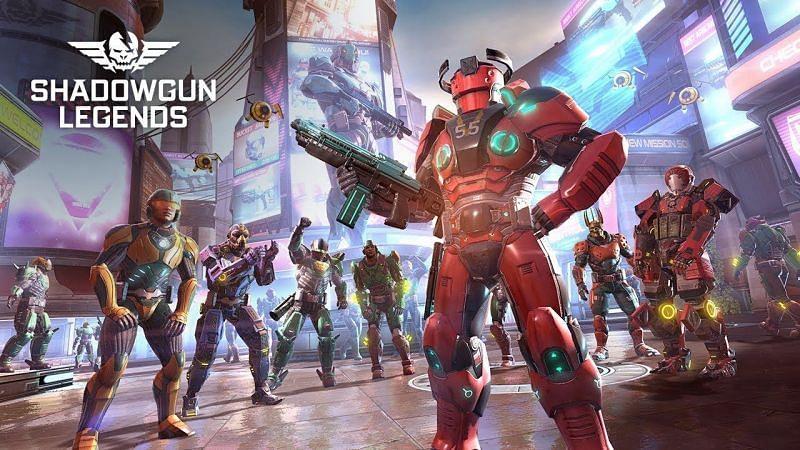 Shadowgun Legends also has a story campaign (Image via Shadowgun Legends)