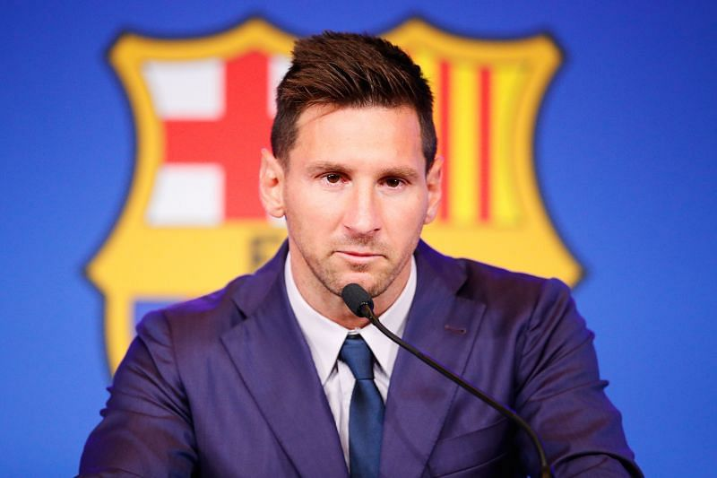Lionel Messi departed Barcelona after 21 years