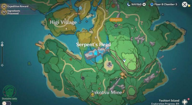 Ubicación de la última tumba simple en el mapa (Imagen HDRsaputra, vía Youtube)