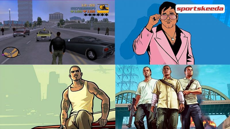 The remastered versions of older GTA titles will come out later this year (Image via Sportskeeda)