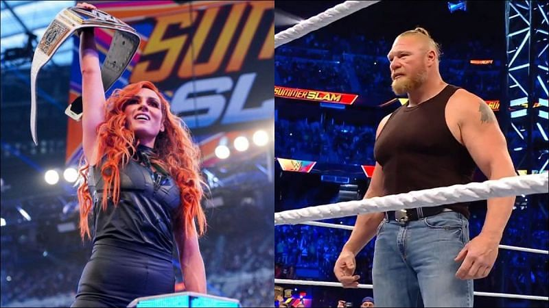 WWE SummerSlam was filled with surprises
