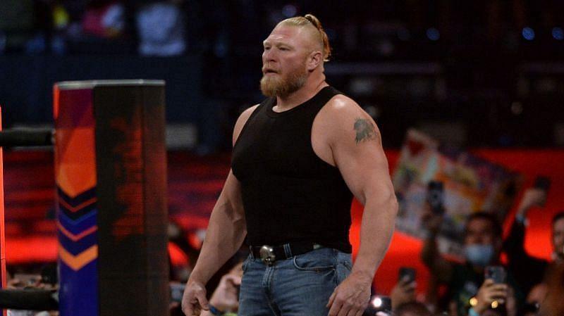 WWE SummerSlam 2021 में लैसनर ने वापसी कर फैंस को सरप्राइज दिया था