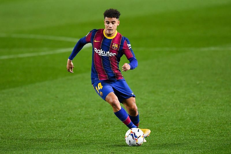 Philippe Coutinho of Barcelona is a feared striker of the ball.