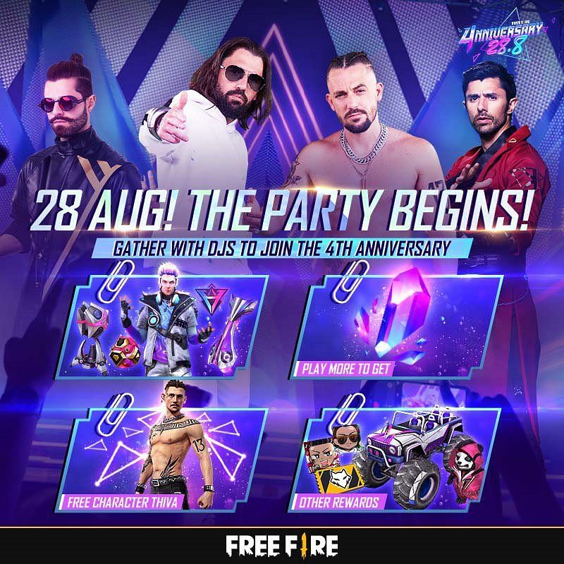 The party begins 28 August, so join in with your friends
