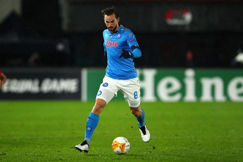 Fabian Ruiz in action for Napoli