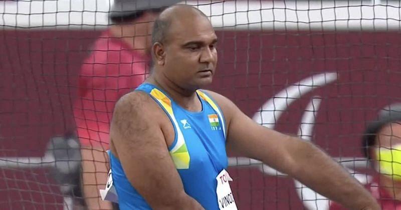 Tokyo Paralympics में विनोद कुमार ने डिस्कस थ्रो में कांस्य पदक जीता था