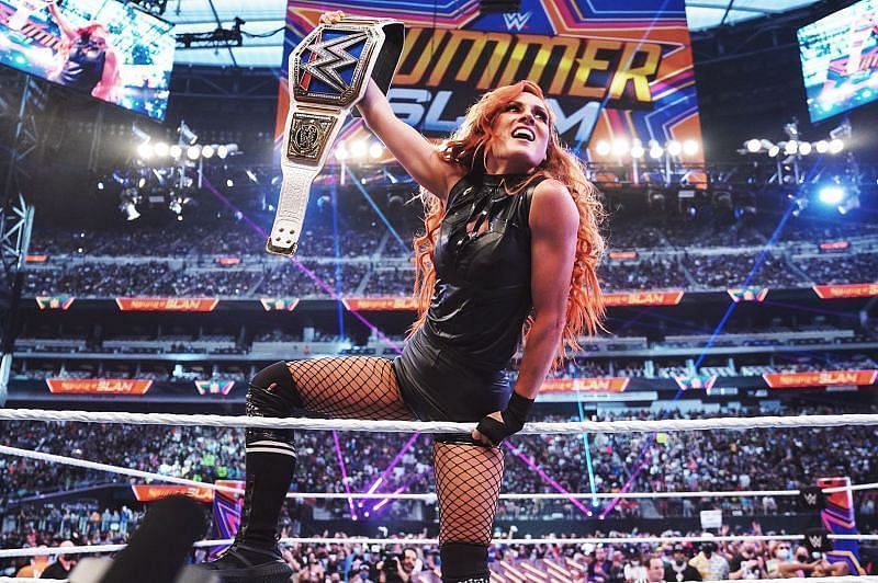 WWE SummerSlam में बैकी लिंच ने वापसी कर धमाल मचाया था