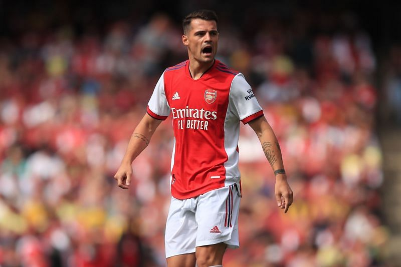 Xhaka has been an important part of Arsenal's midfield