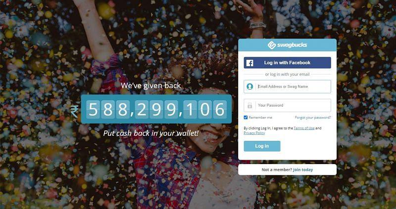 Swagbucks is one of the most used GPT sites(Image via Swagbucks)