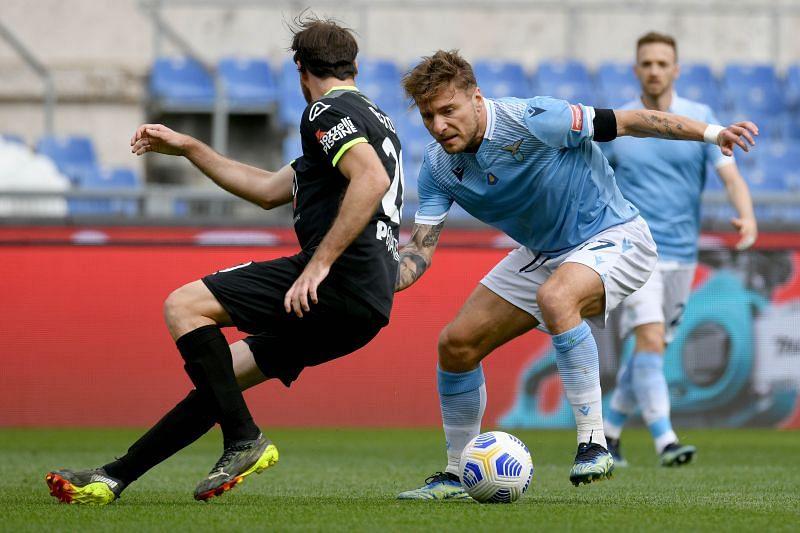 Lazio take on Spezia this weekend