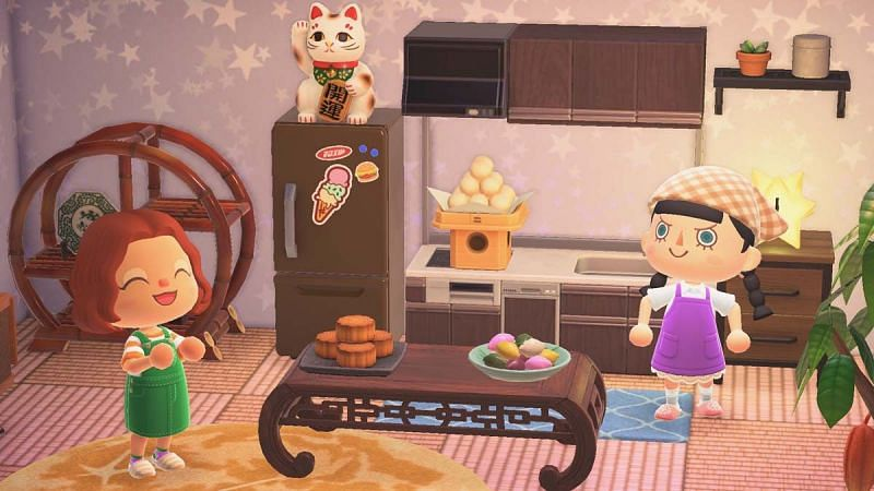 Dango and moon cakes are a part of the moon viewing festivities (Image via Nintendo)