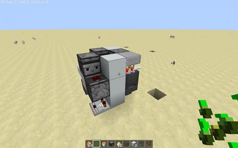 Tiny chicken farm (Image via u/ErikPipes on Reddit)