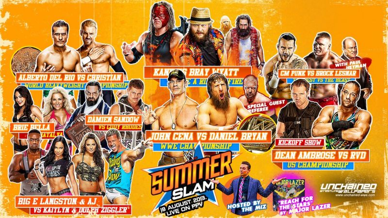Over the course of 33 events, Summerslam has become a yearly highlight for all WWE fans.
