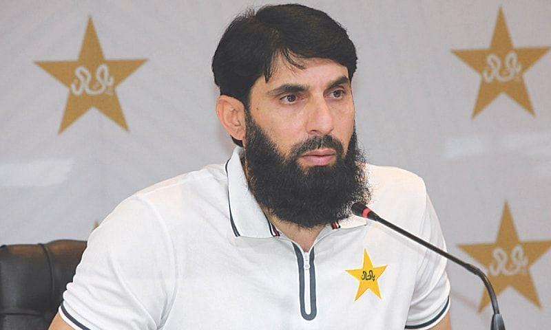 Pakistan head coach Misbah-ul-Haq tests positive for Covid