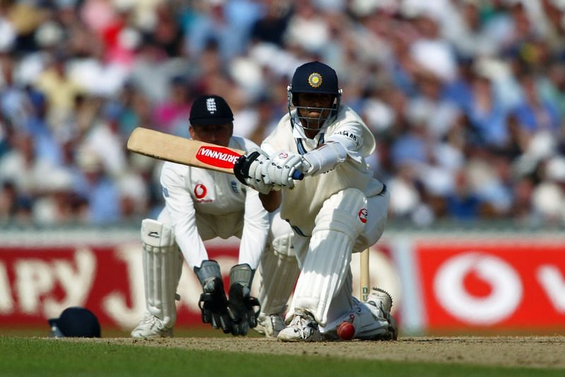 Rahul Dravid of India