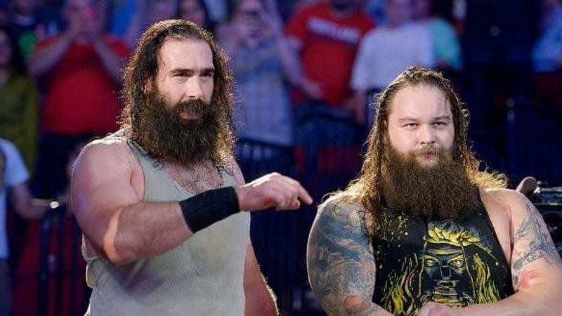 Mr. Brodie Lee and Bray Wyatt