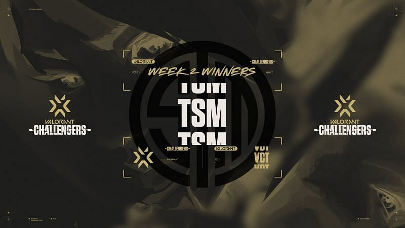TSM become winners of the the Valorant Champions Tour North America Stage 3  Challengers 2
