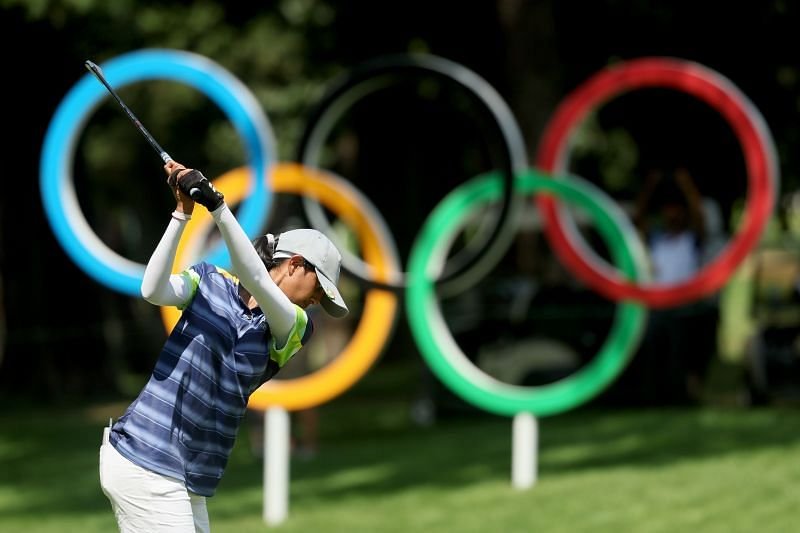 A total of 60 golfers are competing in the women's event