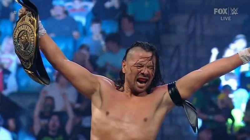 Shinsuke Nakamura is the new IC Champion