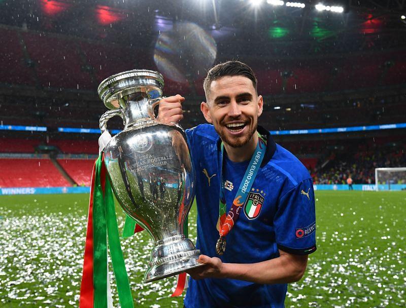 Jorginho won the Champions League and Euros this year.