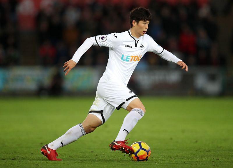 Ki Sung-Yeung - Swansea City vs AFC Bournemouth - Premier League