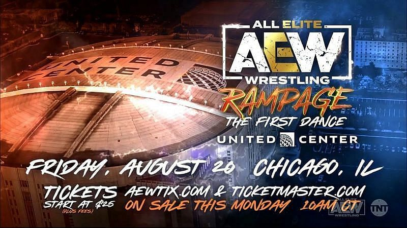 Watch AEW Rampage: The First Dance 8/20/21