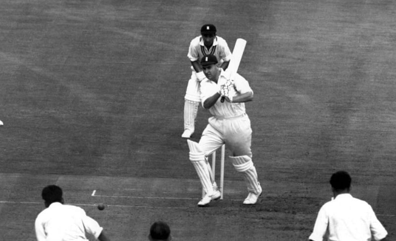 Colin Cowdrey scored a fine century for England in the 1959 Leeds Test against India.