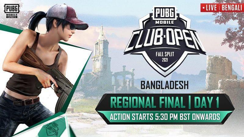 PMCO Fall Split 2021 Bangladesh Finals (Image via PUBG Mobile)