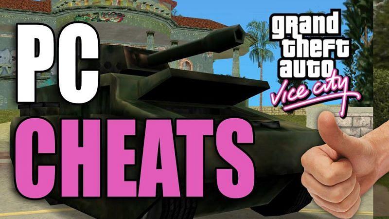 GTA Vice City Cheats (Image via Youtube @GTA.com.ua)