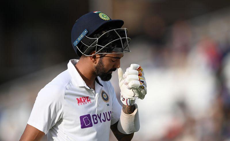 KL Rahul was dismissed caught behind in both innings at Trent Bridge