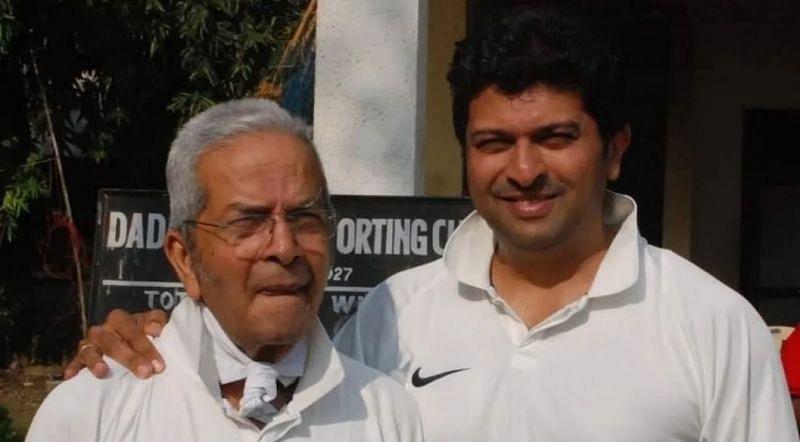 वासु के बेटे जतिन भारतीय टीम के लिए खेल चुके हैं