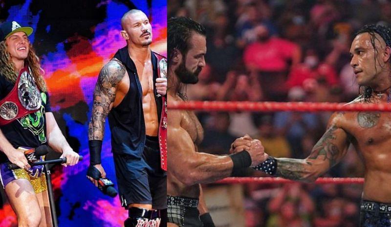 WWE Raw के एपिसोड में दो चैंपियनशिप मैच देखने को मिले