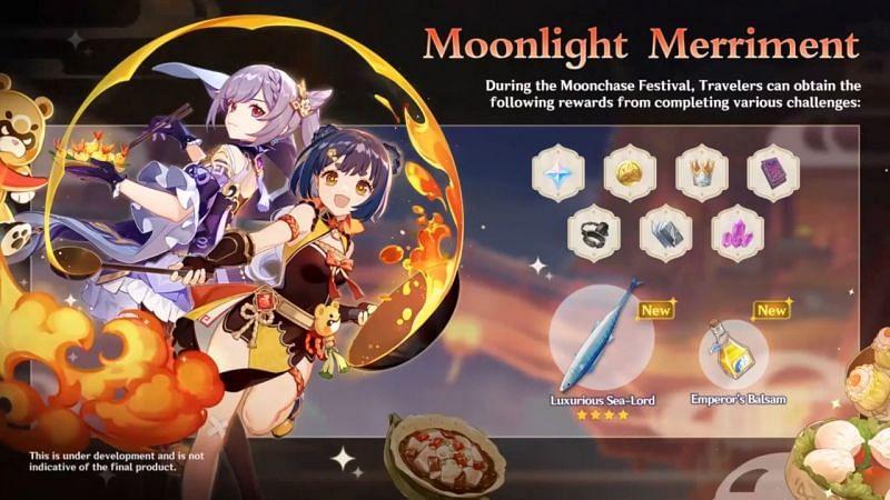 Acara Festival Moonchase di Genshin Impact 2.1 (Gambar via Genshin Impact)