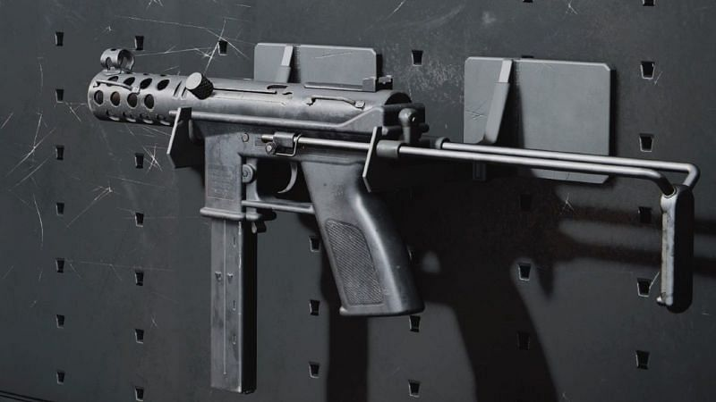 Level the battle pass to earn the Tec-9 (Image via Activision)