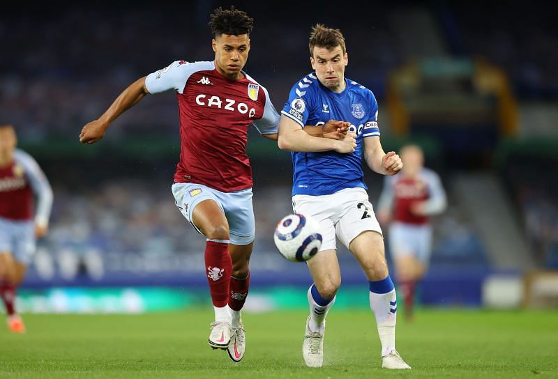 Coleman in action for Everton