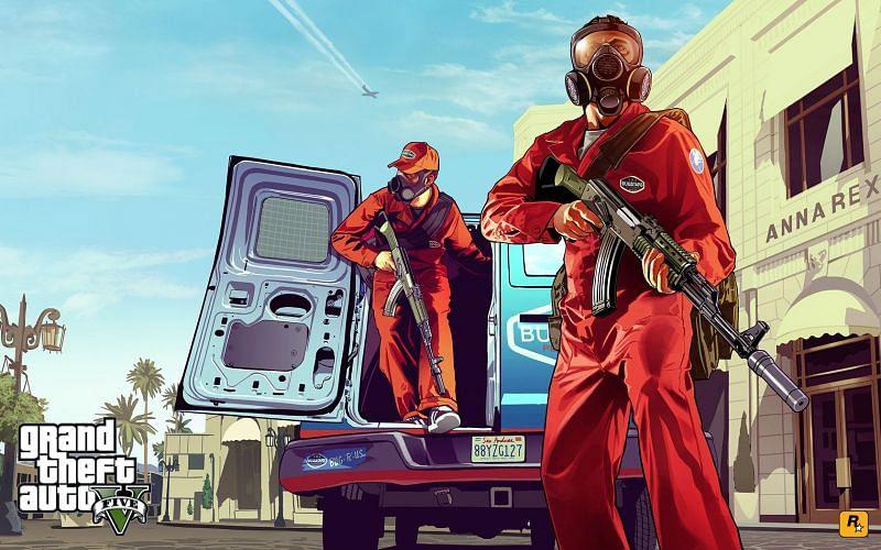 GTA 5 PS4 作弊码(图片来自 Rockstar Games)