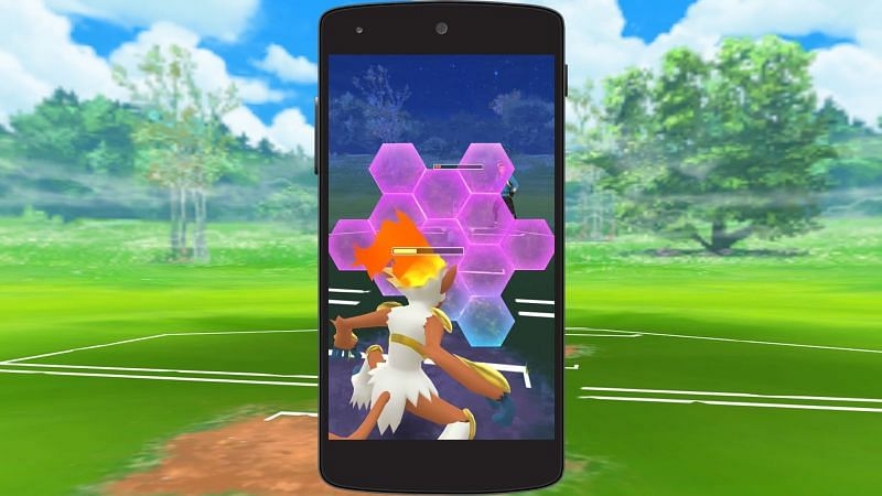 Shields are crucial to avoiding heavy damage and staying in the fight (Image via Niantic)
